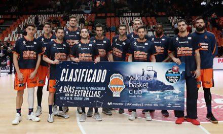 El Valencia Basket saborea su plaza en la Copa del Rey