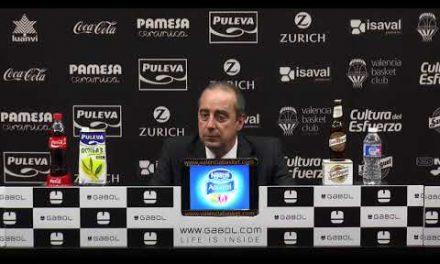Txus Vidorreta pos J16 Liga Endesa vs Tecnyconta Zaragoza