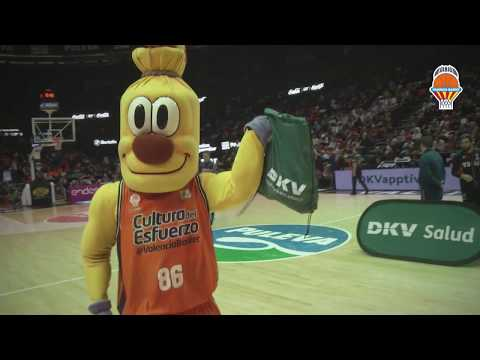 DKV Salud en J16 Liga Endesa vs Tecnyconta Zaragoza