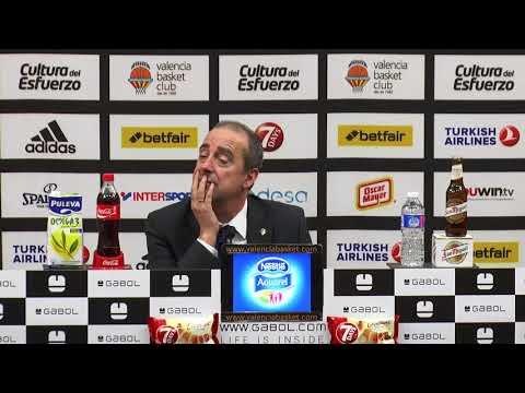 Txus Vidorreta pos J18 Euroliga vs FCB Lassa