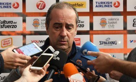 Txus Vidorreta pre J20 Turkish Airlines Euroleague vs Khimki