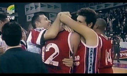 1/4 de Final vs TAU Cerámica – Copa del Rey 1998