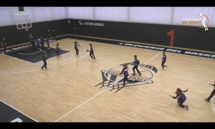 El Colegio Int. Ausiàs March se divierte en L'Alqueria del Basket