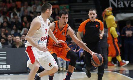 Abalde ejecuta a CSKA y Valencia Basket deja su sello en la Euroliga (103-99)
