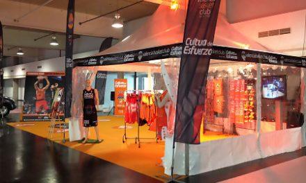 Punto de Encuentro taronja y Tienda Oficial en la Copa del Rey