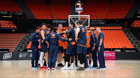 Valencia Basket viajará mañana martes a la Copa del Rey Gran Canaria 2018