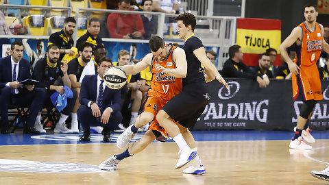 Rafa Martínez, máximo anotador de Valencia Basket en la Copa del Rey