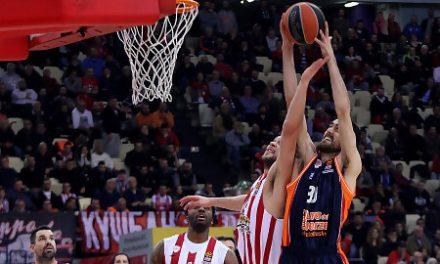 Valencia Basket compite con Olympiacos pero no puede con Spanoulis (80-70)
