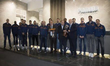 Valencia Basket visita la Feria Cevisama 2018