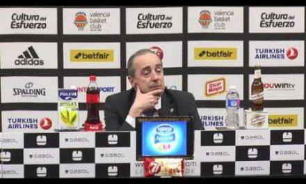 Txus Vidorreta pos J22 Euroliga vs CSKA Moscow