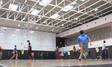 El IES Els Évols visita L'Alqueria del Basket