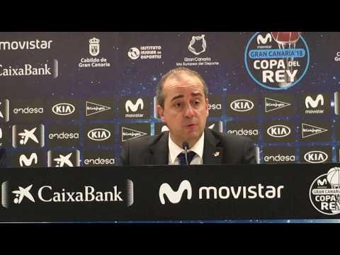 Txus Vidorreta post 1/4F Copa del Rey 2018