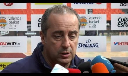 Txus Vidorreta pre J23 Euroliga en Olympiacos