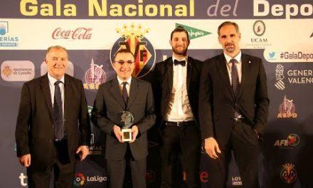 Gala Nacional del Deporte de la AEPD 2018