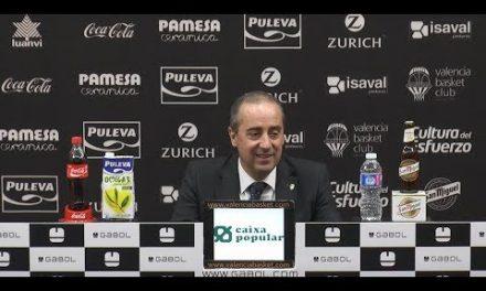 Txus Vidorreta pos J19 Liga Endesa vs Real Betis Energía Plus