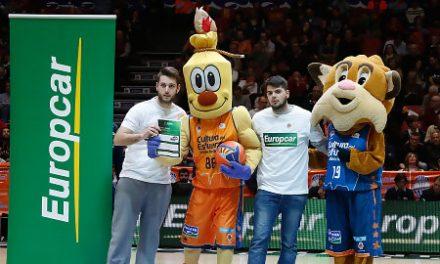 Europcar animará el partido entre Valencia Basket y UCAM Murcia