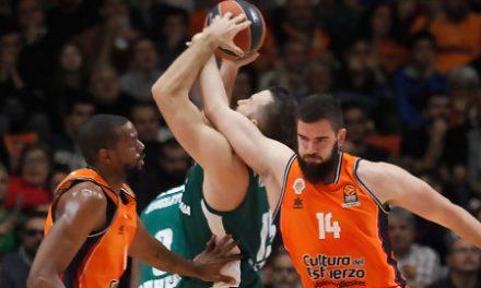 Valencia Basket visita al Panathinaikos sin Dubljevic, Vives ni Williams