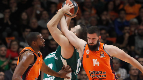 Valencia Basket visita al Panathinaikos sin Dubljevic, Vives ni Williams