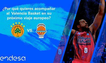 Endesa premia a un basketlover taronja con un viaje a Atenas con el equipo