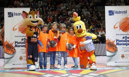 Pinturas Isaval celebra su 50º aniversario en el Valencia Basket-Iberostar