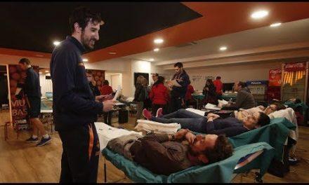 Donación de sangre 2018 en la Fonteta
