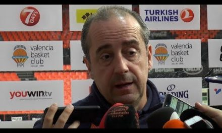 Txus Vidorreta pre J29 EuroLeague en Panathinaikos