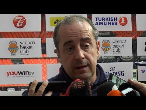 Txus Vidorreta pre J29 EuroLeague en Panathinaikos