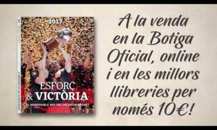 «Esforç & Victòria», a la venta el libro que recorre el memorable 2017