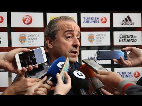 Txus Vidorreta pre J25 Euroliga vs Baskonia