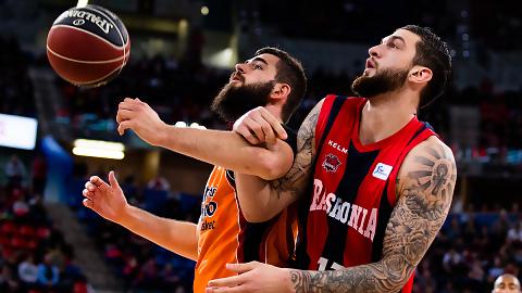 El Valencia Basket pone a prueba la racha del Kirolbet Baskonia