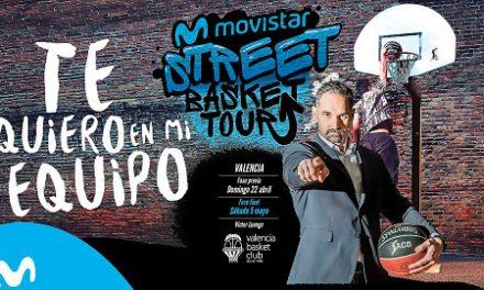 Inscripciones abiertas para el Movistar Street Basket Tour de Valencia