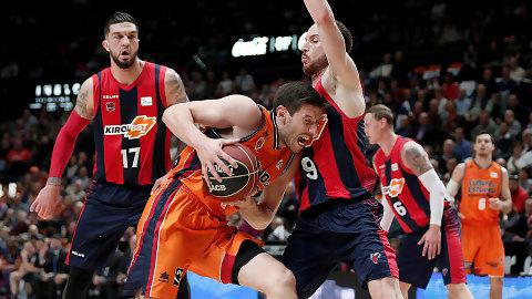 Valencia Basket cierra la racha de KIROLBET Baskonia (81-77)