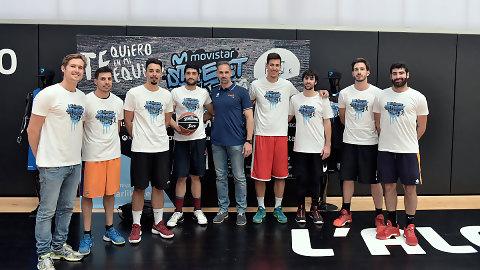 Víctor Luengo ya tiene su equipo para el Movistar Street Basket