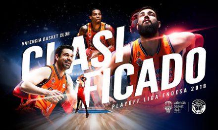 Valencia Basket se clasifica para el Playoff de la Liga Endesa