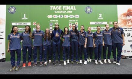 Presentación y sorteo de la Fase Final de Liga Femenina 2