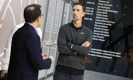 Pepe Sánchez conoce L'Alqueria del Basket