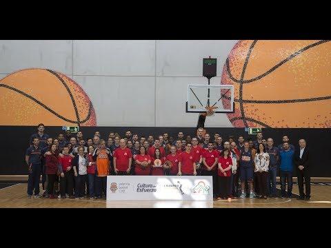 La Fundación Roig Alfonso visita L'Alqueria del Basket