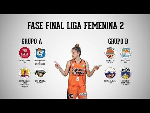 Irene Garí explica la Fase Final de Liga Femenina 2