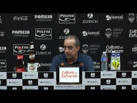 Txus Vidorreta pre J29 Liga Endesa vs Unicaja
