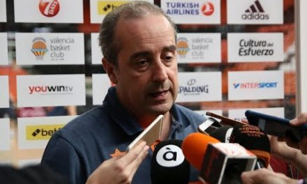 Txus Vidorreta pre J30 Turkish Airlines EuroLeague vs Maccabi Fox Tel Aviv