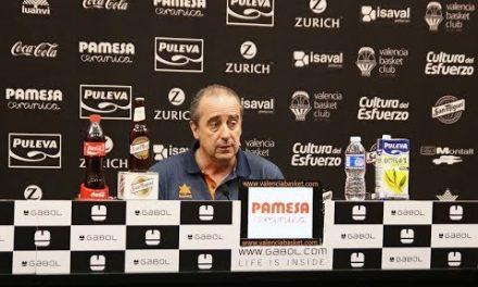 Txus Vidorreta pre J30 Liga Endesa en Divina Seguros Joventut