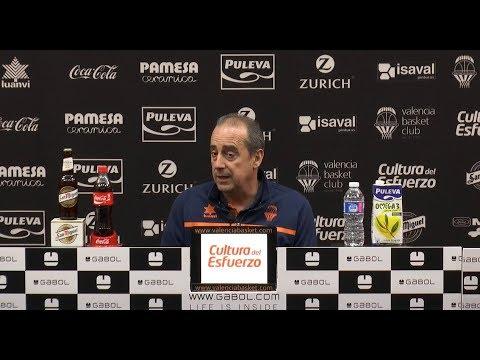 Txus Vidorreta pre J27 Liga Endesa vs Baskonia