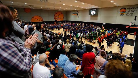 La Valencia Basket Cup, un éxito en L'Alqueria del Basket
