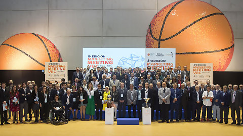 Gran éxito de la octava edición del Marketing Meeting de Valencia Basket