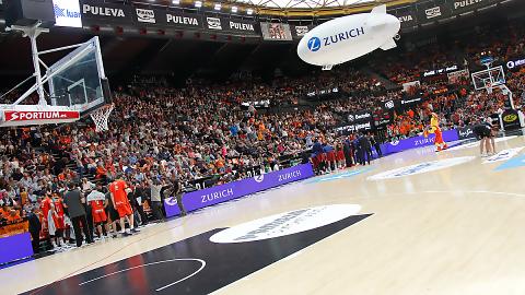 Zurich pone la animación en el partidazo del sábado ante FC Barcelona Lassa