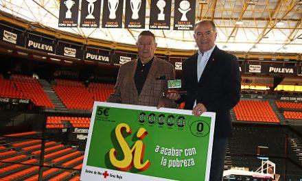 Cruz Roja agradece a Valencia Basket su implicación en el Sorteo del Oro