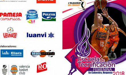 El Campus de Valencia Basket tendrá una Escuela de Tecnificación Femenina