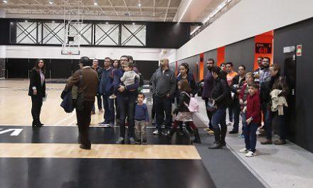 Más de 600 visitas a la mayor instalación de baloncesto de Europa