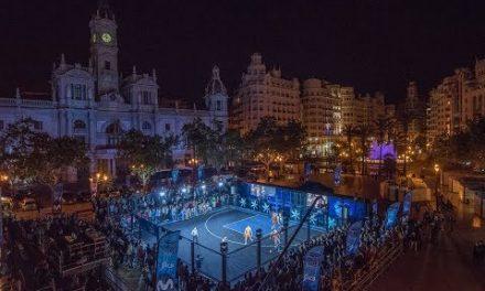Gran éxito del Movistar Street Basket Tour en la Plaza del Ayuntamiento