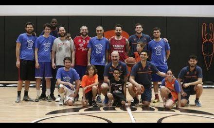 Entrenamiento con los campeones de la mano de Endesa Basket Lover